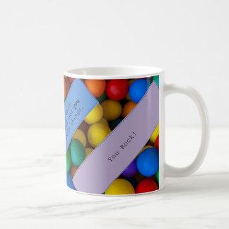 Addieren Sie einfach Schokolade Kaffeetasse