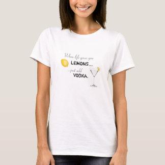 Addieren Sie einfach Wodka T-Shirt