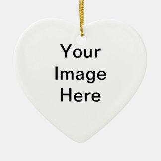 """""""Addieren Sie Ihr Bild"""" Arts4Charity Keramik Ornament"""