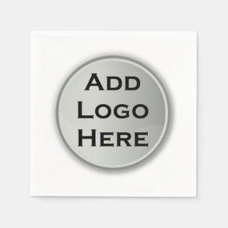 Addieren Sie Ihr Logo-Unternehmensgeschenk Servietten