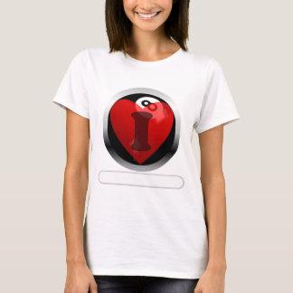 Addieren Sie Ihren Ball der Wörter 8 T-Shirt