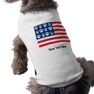 Addieren Sie Ihren eigenen Titel Ärmelfreies Hunde-Shirt