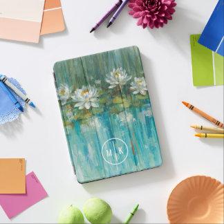 Addieren Sie Ihren Wasser-Lilien-Teich des iPad Air Cover