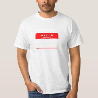 Addieren Sie jeden möglichen Namen T-Shirt