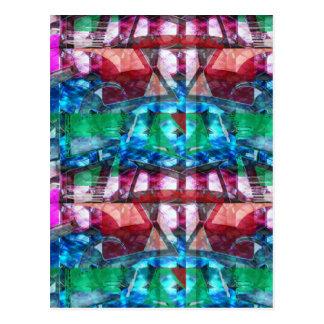 Addieren Sie Juwel-Muster-Grafiken TEXT-Foto Postkarten