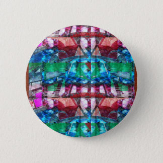 Addieren Sie Juwel-Muster-Grafiken TEXT-Foto Runder Button 5,1 Cm