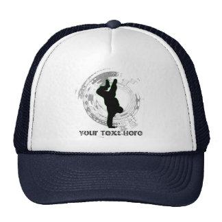 Addieren Sie Sie besitzen Text Tanz-Kappe Baseball Mützen