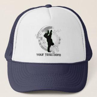 Addieren Sie Sie besitzen Text Tanz-Kappe Truckerkappe