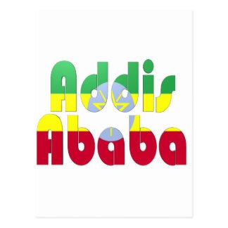 Addis Abeba, Äthiopien Postkarte