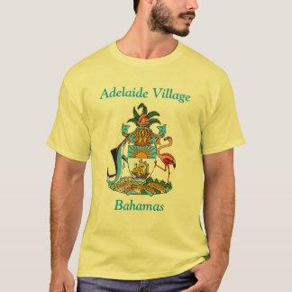 Adelaide-Dorf, Bahamas mit Wappen T-Shirt