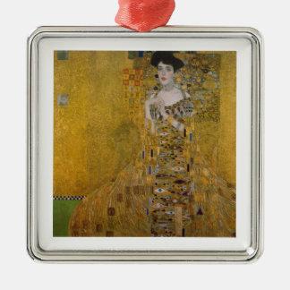 Adele Bloch Bauer durch Gustav Klimt Silbernes Ornament