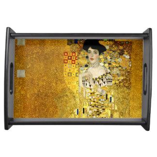 Adele Bloch-Bauer I durch Gustav Klimt Tablett