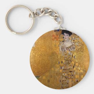 Adele, die Dame im Gold - Gustav Klimt Schlüsselanhänger