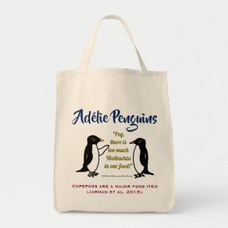 Adélie Pinguine durch RoseWrites Tragetasche