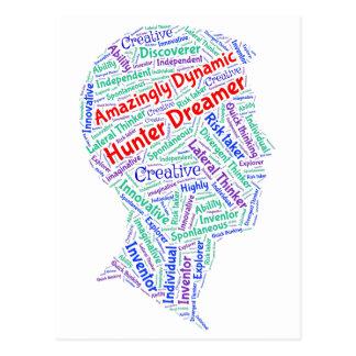 ADHD motivierend kreative Postkarte Inspirational