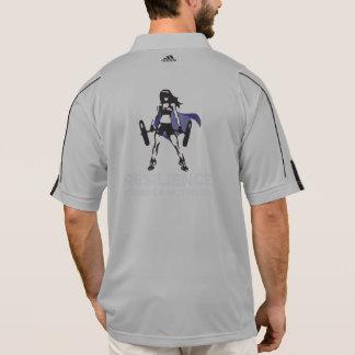 Adidas ClimaLite® der Männer, das 1/2 Zippullover Polo Shirt