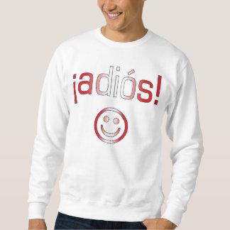 ¡ Adiós! Peru-Flaggen-Farben Sweatshirt