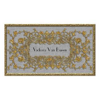 Adlamchelle Winter-elegantes berufliches Visitenkarten