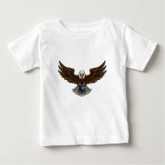 Adler-Bowlings-Sport-Maskottchen Baby T-shirt