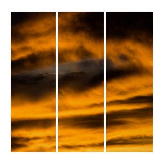 Adler Burnout Triptychon