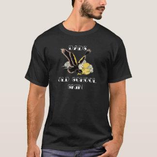 Adler der Vatis alte Schulfür dunkle Shirts