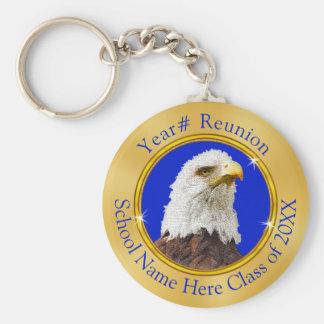Adler-Klassen-Wiedersehen-Geschenke mit IHREM TEXT Schlüsselanhänger