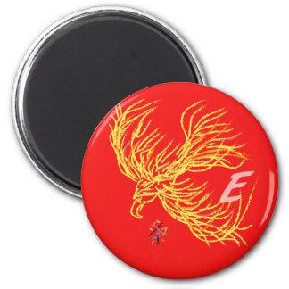 Adler Runder Magnet 5,7 Cm