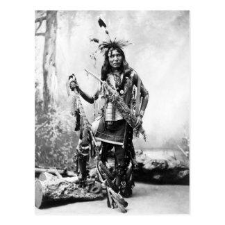 Adler-Shirt (Sioux) Postkarte