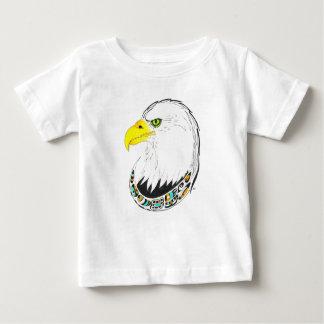 Adler-Tinten-Zeichnen Baby T-shirt