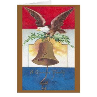 Adler und Freiheits-Bell-amerikanischer Unabhängig Karten