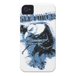Adler zwingt Blau mit Text iPhone 4 Case-Mate Hülle