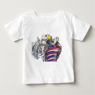 Adlerflagge Baby T-shirt