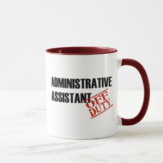 Admin-Vorlage dienstfrei Tasse