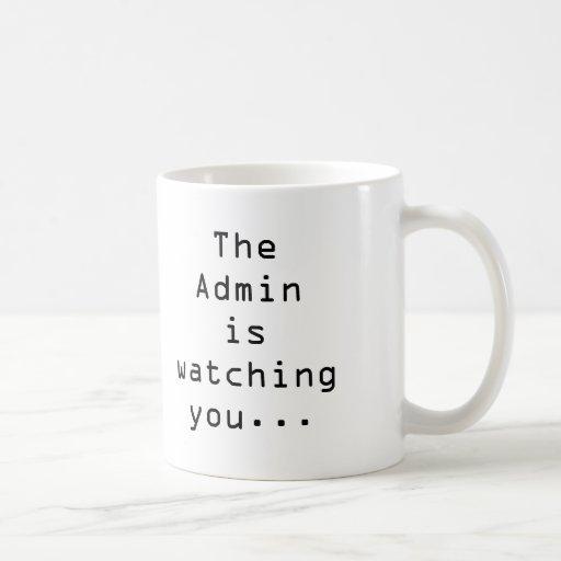 Admins u. Bürooverlords-Tasse