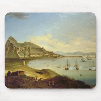 Admiral des blauen Geschwaders, das bei Gibraltar Mousepad