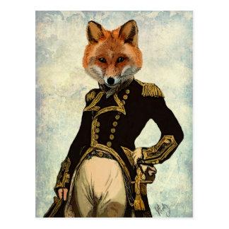 AdmiralFox voll 2 Postkarte