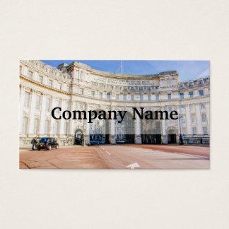 Admirality Bogen, das Mall, London Vereinigtes Visitenkarte