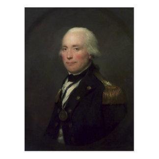 Admirals-Sir Robert Calder Postkarte