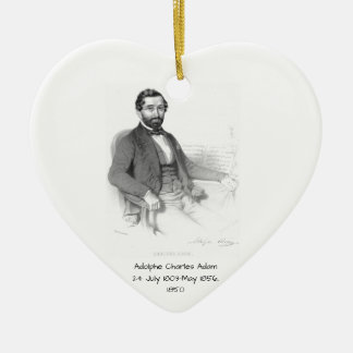 Adolphe Charles Adam, 1850 Keramik Ornament