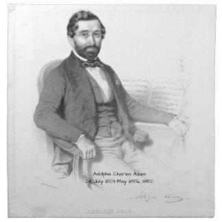 Adolphe Charles Adam, 1850 Stoffserviette