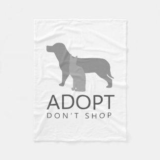 Adopt kaufen nicht fleecedecke