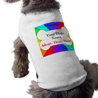 Adopt kaufen nicht personalisiertes Hundet-stück Shirt