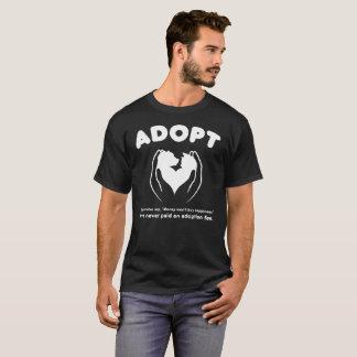 Adoptieren Sie ein Haustier-Geschenk-T-Stück T-Shirt