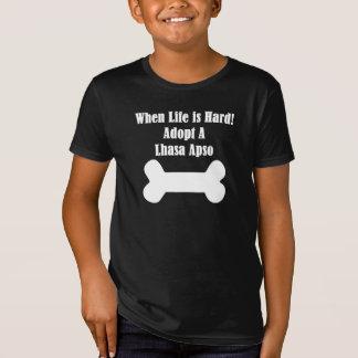 Adoptieren Sie ein Lhasa Apso T-Shirt