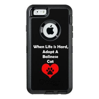 Adoptieren Sie eine Balinese-Katze OtterBox iPhone 6/6s Hülle