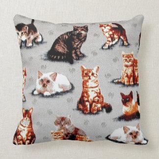 Adoptieren Sie eine Tierschutz-Katze Kissen