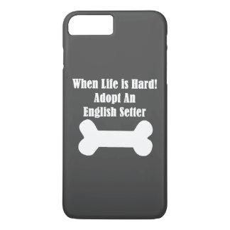 Adoptieren Sie einen englischen Setzer iPhone 8 Plus/7 Plus Hülle