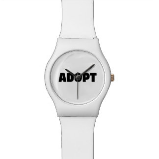 Adoptieren Sie Rettungs-Hundearmbanduhr Armbanduhr