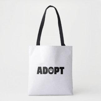 Adoptieren Sie Rettungs-HundeTaschen-Tasche Tasche