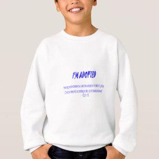 Adoptiert durch Christus Sweatshirt